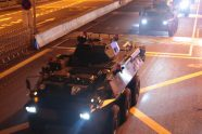 Armored Vehicles and Armed Helicopters Move into Hong Kong at 4AM from China