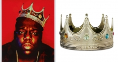 Biggie Smalls' crown and other items for sale at Sotheby's first hip-hop auction