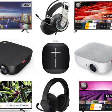LG 4K TVs, Logitech headsets, Razer gaming mice, Ultimate Ears speakers, and more on sale for Oct. 16 in the UK