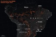 Most of the Brazil Fires are Controlled Slash and Burn Farming Fires
