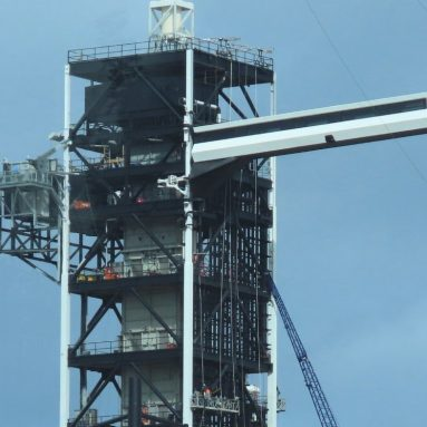 Pictures of the SpaceX Upgrades to Launch Complex 39A
