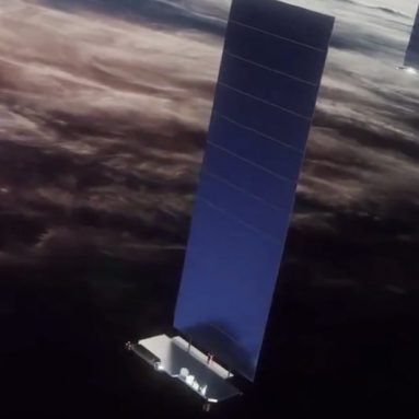 Radical SpaceX Starlink Satellite Designs Lower Costs by Three Times