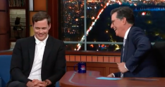 Stephen Colbert's 'Pennywise smile' might be more terrifying than Bill Skarsgård's