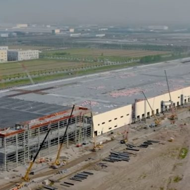 Tesla Shanghai Factory Building is Nearly Complete