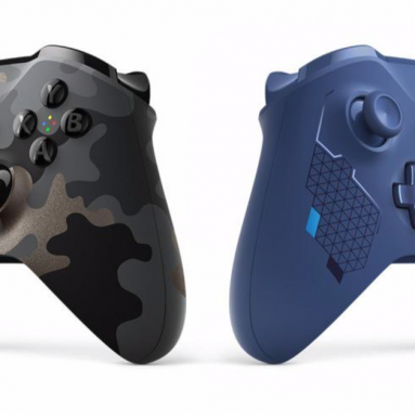 Xbox One controllers get two new looks this fall